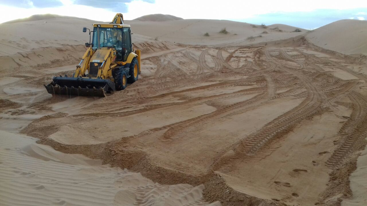 Preparing the site of Tiziri Camp | How to build a Luxury ECO Desert Camp