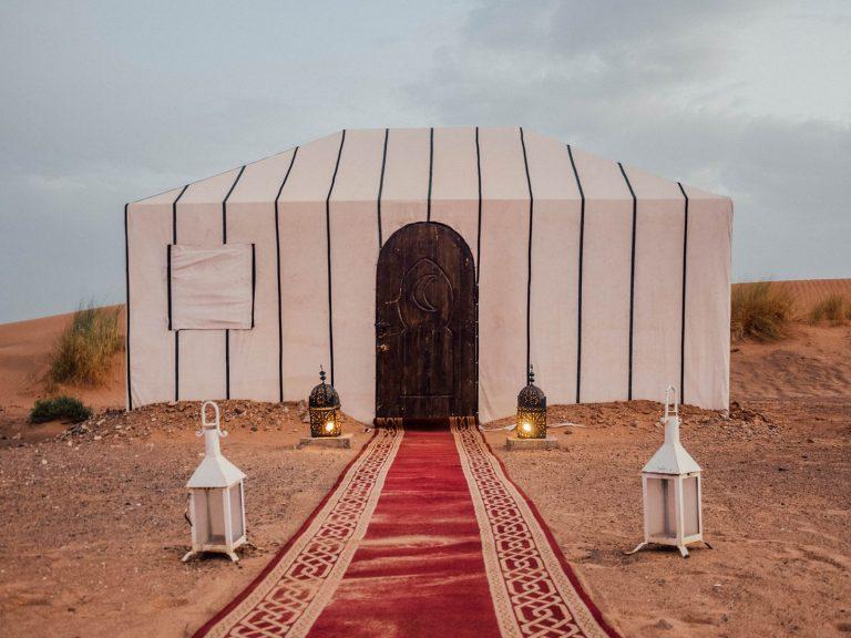 Tent at Tiziri Camp