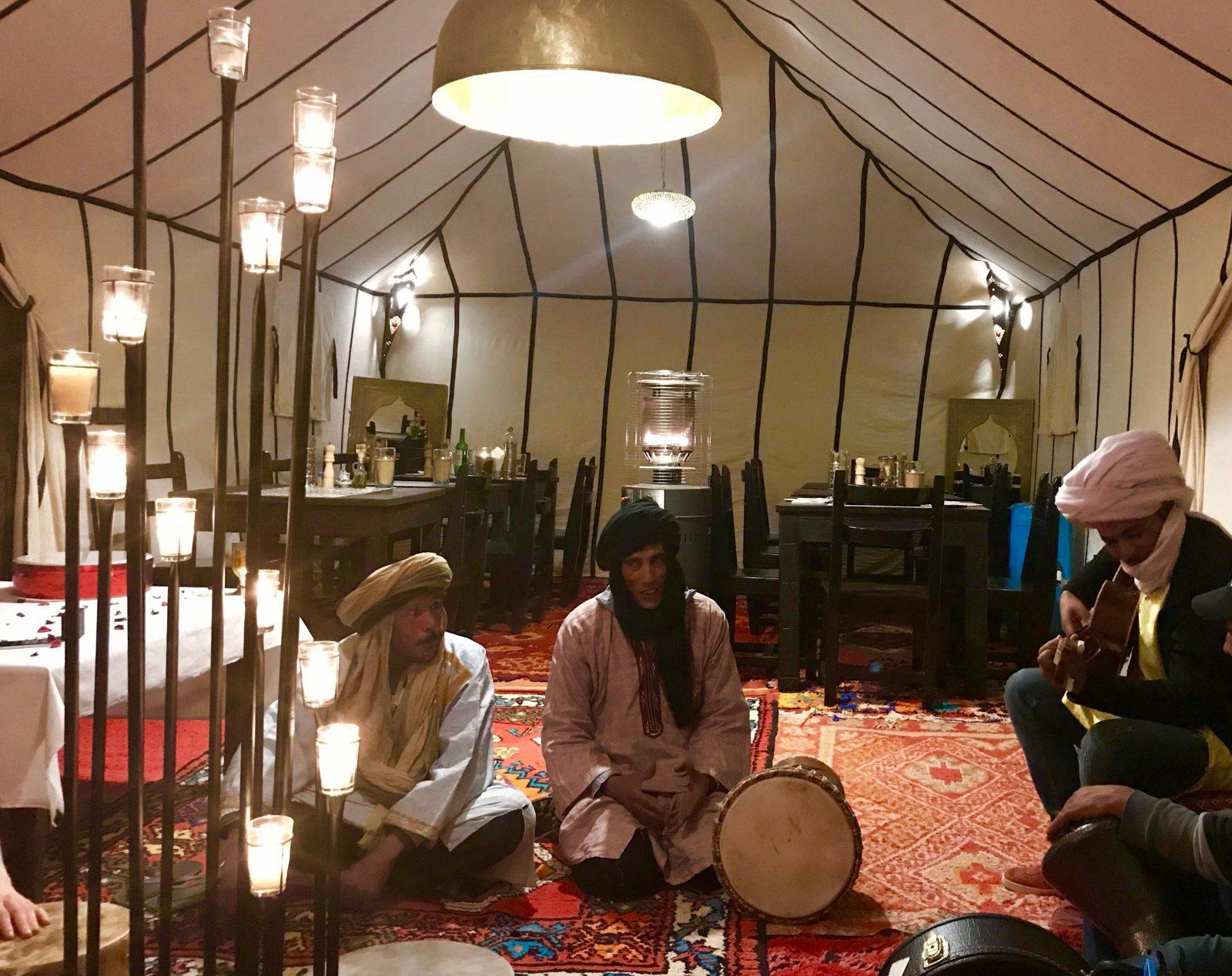 musicians Tiziri Camp