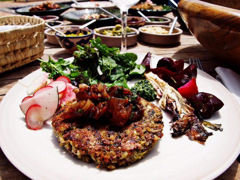 quinoa pates | Vegan at Tiziri