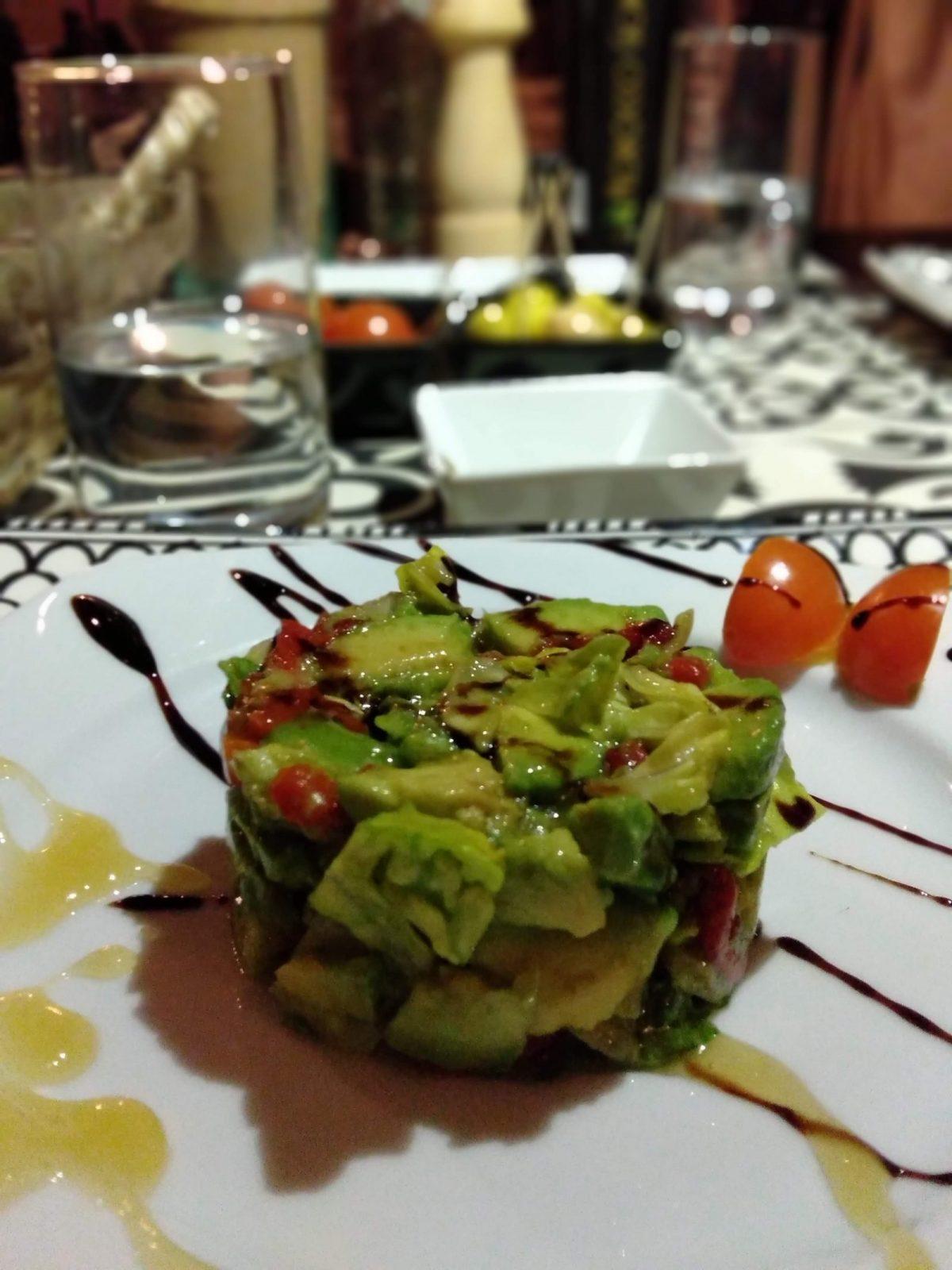 Vegetarian Meal Tiziri