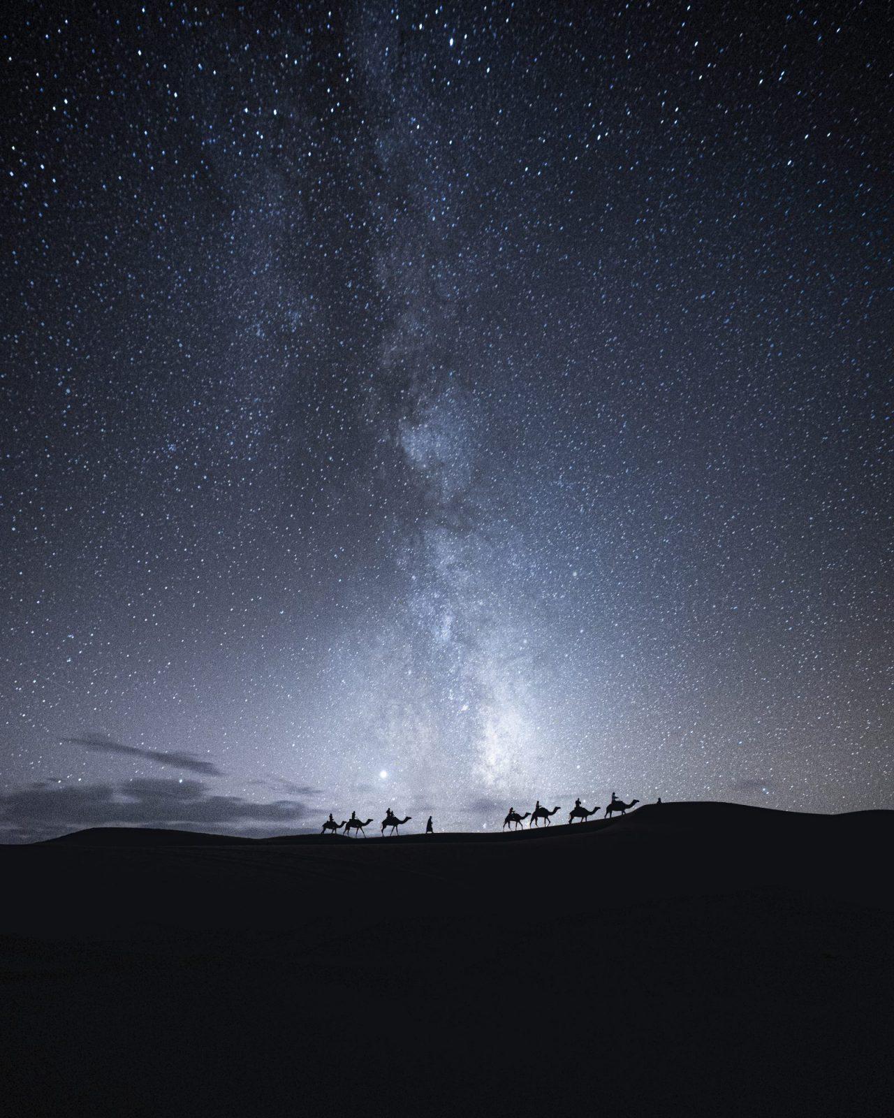 Night Skies Desert